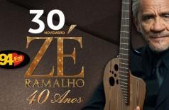 Banner: Zé Ramalho 40 anos