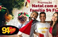 Banner: Natal com a família 94 FM