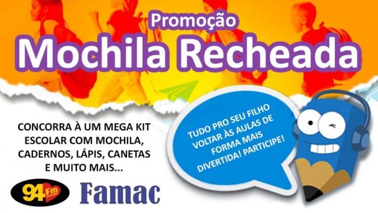 Banner: Mochila Recheada