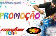 Banner: Promoção Sextou Folia