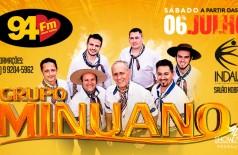 Banner: Show Baile Grupo Minuano