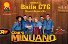 Banner: Baile CTG Semana Farroupilha