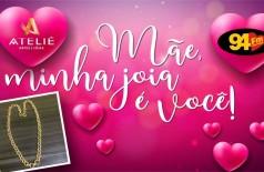 Banner: Mãe, minha joia é você