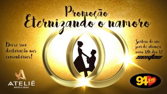Banner: Eternizando o namoro