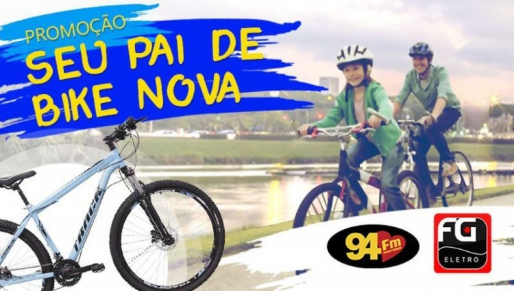 Banner: Seu pai de bike nova