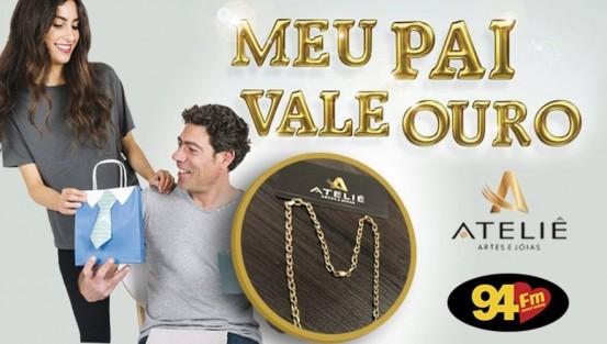 Banner: Meu pai vale ouro