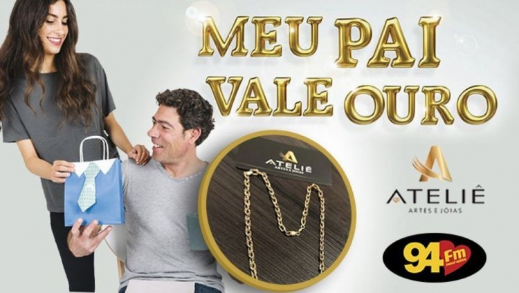 Banner: Meu pai vale ouro