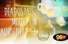 Banner: Dia dos pais merece um brinde né!