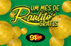 Banner: Raulitos de graça por 1 mês