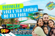 Banner: Você e sua família no Ody Park