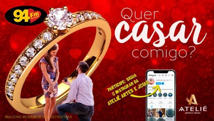 Banner: Quer casar comigo?