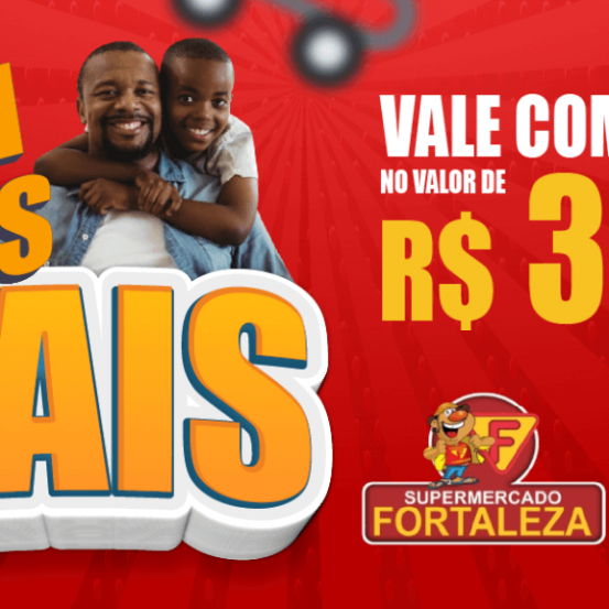 Banner: R$ 300 em compras no Fortaleza
