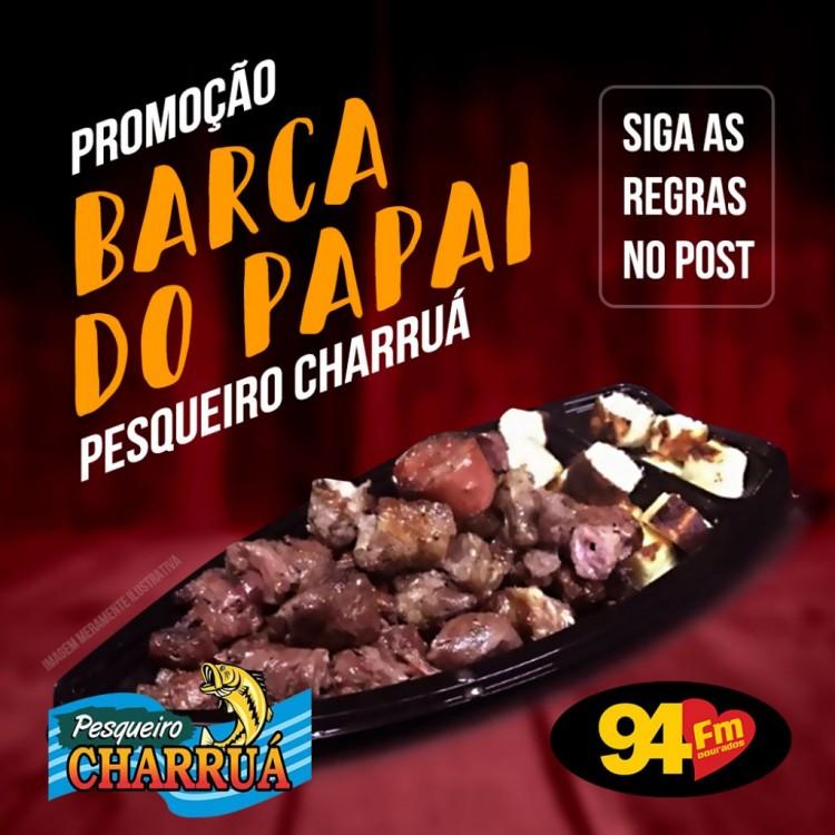 Banner: Barca do Papai Pesqueiro Charruá