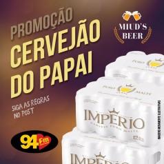Banner: Cervejão do Papai