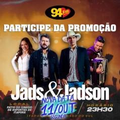 Banner: Violada sertaneja com Jads e Jadson