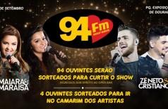 Banner: Promoção Maiara e Maraísa e Zé Neto e Cristiano