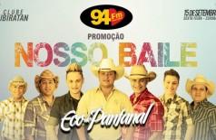 Banner: Promoção Nosso Baile com Eco do Pantanal