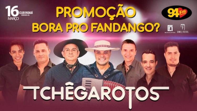 Banner: Bora pro Fandango com Tchê Garotos?