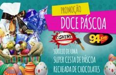 Banner: Doce Páscoa Oshiro Tintas e 94 FM