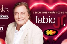 Banner: Dia dos Namorados com Fábio Júnior
