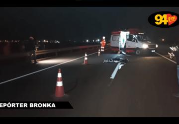 Homem é atropelado e morre na BR 163